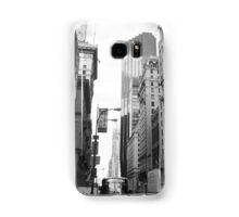 New York City Manhattan Grayscale Photograph Samsung Galaxy Case/Skin