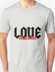 Love Machine - Cool Gifts Design T-Shirt