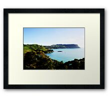 Tasmania - North Coast Framed Print