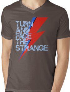 Ch-ch-ch-changes Mens V-Neck T-Shirt