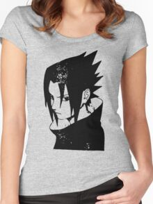 Sasuke Uchiha Women's Fitted Scoop T-Shirt