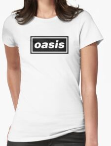 Oasis Logo Womens Fitted T-Shirt
