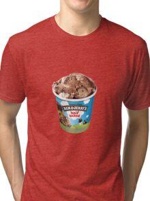 Half Baked Ice Cream Tri-blend T-Shirt