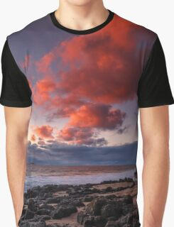 Rocky Sunset Graphic T-Shirt
