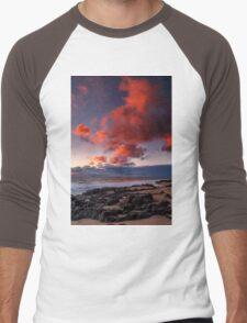 Rocky Sunset Men's Baseball ¾ T-Shirt