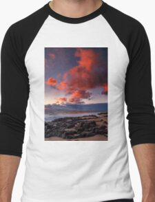 Rocky Sunset Men's Baseball ¾ T-Shirt