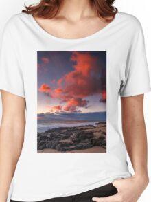 Rocky Sunset Women's Relaxed Fit T-Shirt