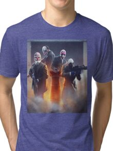 Payday 2 - The crew  Tri-blend T-Shirt
