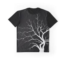 White Ironwood Graphic T-Shirt