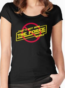 Force 101 Women's Fitted Scoop T-Shirt