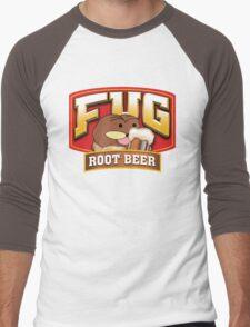 Fug Root Beer Men's Baseball ¾ T-Shirt