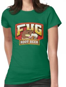 Fug Root Beer Womens Fitted T-Shirt