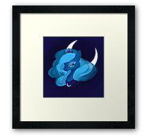 Luna Moonlight Framed Print