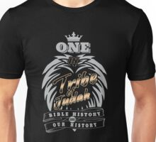ONE In Tribe of Judah | Bible History = Our History Unisex T-Shirt