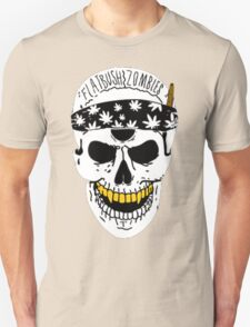 Flatbush Zombies White Skull Tee T-Shirt