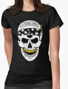 Flatbush Zombies White Skull Tee Womens Fitted T-Shirt