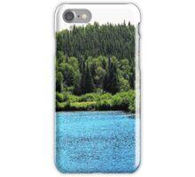 Lac vue sur foret iPhone Case/Skin