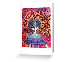 Whisper Sweet Affirmations Greeting Card