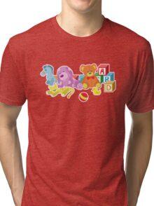 Cute Dolls (Pink) Tri-blend T-Shirt