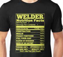 WELDER NUTRITION FACTS Unisex T-Shirt