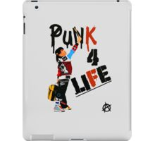 "Punky ""Punk 4 Life"" Brewster iPad Case/Skin"