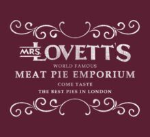 Mrs.Lovett's Meat Pies by Beetlejuice