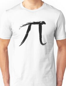 Letter Pi - Black Edition Unisex T-Shirt