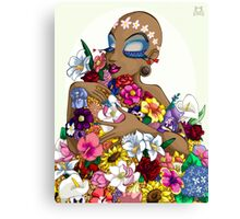 Queen of Flowers Canvas Print