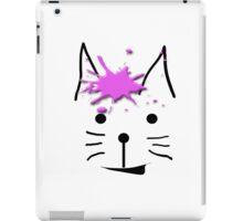 """Ice Cream Cat"" abstract iPad Case/Skin"