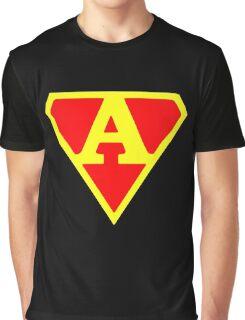 superhero Graphic T-Shirt