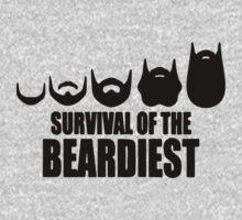 Survival Of The Beardiest Baby Tee