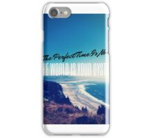 The World is your Oyster Graphic Design iPhone Case/Skin