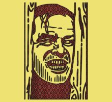 "The Shining ""Carpet Face"" Kids Tee"