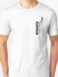 Pencil Pocket Unisex T-Shirt