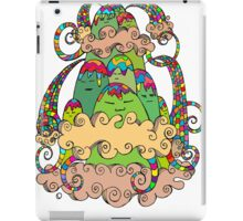 Magic  Mountain Color iPad Case/Skin