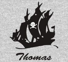 Thomas pirate Kids Tee