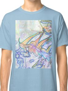 Abstract Beautiful Orchid In Pastel Colors Take 8 Classic T-Shirt
