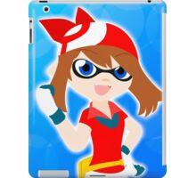 Splatoon crossover Pokemon (May) iPad Case/Skin