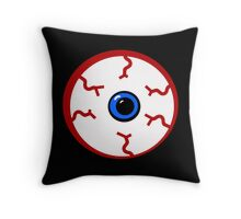 Bloodshot Eyeball Throw Pillow