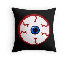 Bloodshot Eyeball Throw Pillow
