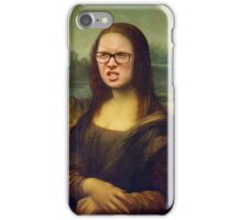 Tyler Oakley Mona Lisa Frown iPhone Case/Skin