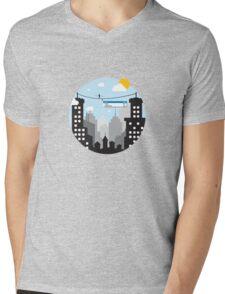 Cut Copy Paste Mens V-Neck T-Shirt