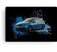 VW Golf R Canvas Print