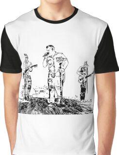 Rascal Flatts Concert Vector Graphic T-Shirt