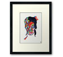 Chameleon (David Bowie - Aladdin Sane) Framed Print