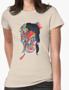 Chameleon (David Bowie - Aladdin Sane) Womens Fitted T-Shirt