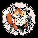 Gothic Fox by Miss Cherry  Martini