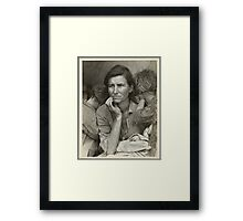 Migrant Mother Framed Print
