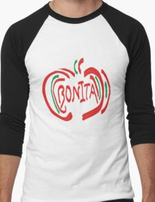 Bonita Apple Men's Baseball ¾ T-Shirt
