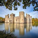 Bodiam Castle, East Sussex, England by Graham Gilmore